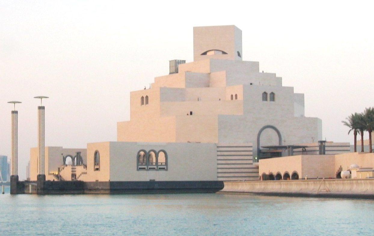 French Limestone Chamesson B2-4 Doha Museum of Art