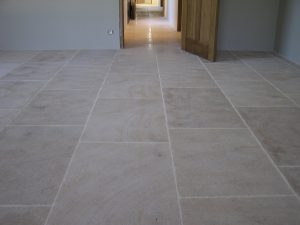 Ampilly French Limestone internal paving