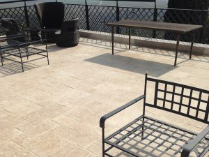 Ampilly French Limestone external paving