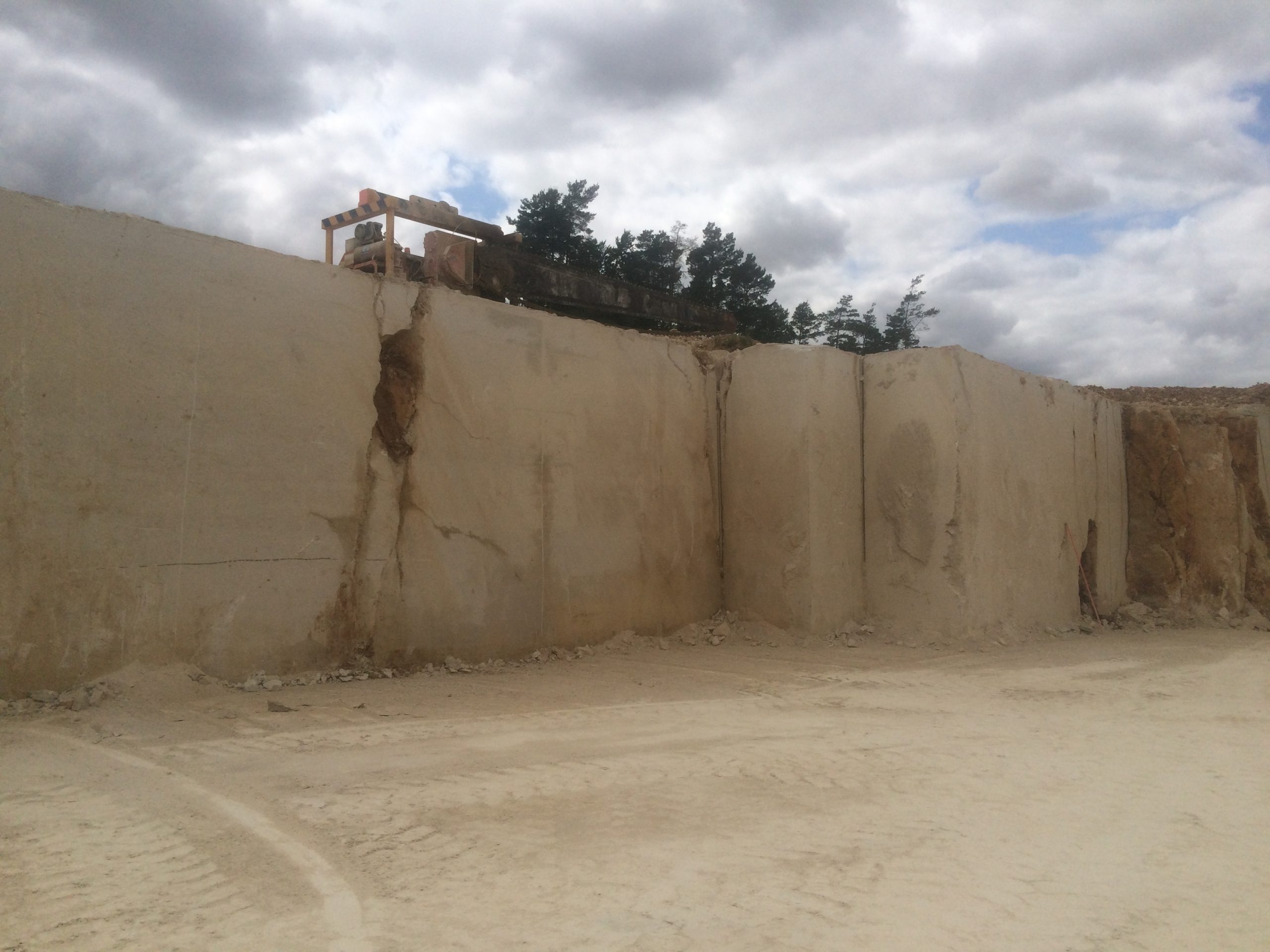 Ampilly French Limestone quarry